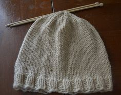 If you're looking for a basic men's beanie knitting pattern, good for beginners and worked up on two needles, you have come to the right pla...