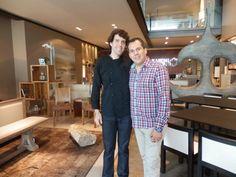 Diseñador de Accesorios Ricardo Patraca y Chef Manuel Salcido ((en grabaciones de Imagen Personal con Ivonne Herrera !!! buena vibra!!!
