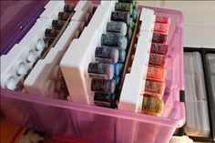 Stickles ArtBin Organizer�Pulled-out organizer - Scrapbook.com
