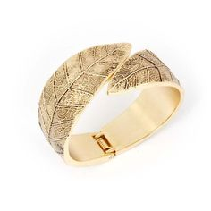 BMC Shinny Gold Alloy Metal Leaves Spring Closure Design Fashion Cuff Bangle Bracelet b.m.c http://www.amazon.com/dp/B00F4E17AO/ref=cm_sw_r_pi_dp_8x62vb1E5N60M
