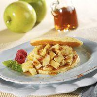 Apple Pancake Sandwich