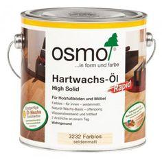 Osmo Hartwachs-Öl RAPID 3232 Farblos seidenmatt 0,75 Liter