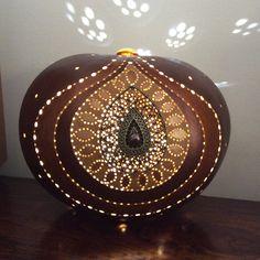 Calebasse lampe bijou Gourd lamp