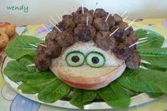 Συνταγές για μικρά και για.....μεγάλα παιδιά: Ιδέες για παιδικό πάρτυ - Ο κεφτεδοσκαντζόχοιρος !