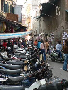 Hanoi - city of the motorbike