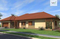 Egyszintes családi ház 238 m2 House Plans, Mansions, House Styles, Outdoor Decor, Home Decor, Decoration Home, Manor Houses, Room Decor, Villas