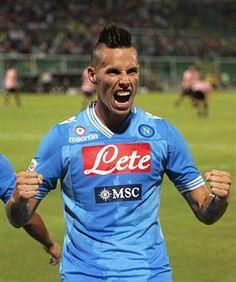 Palermo Napoli 0-3 - Marek Hamsik