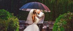 The Kiss is one of the most romantic parts of the wedding. Check out our collection of what we consider some of the most creative wedding kiss photos.