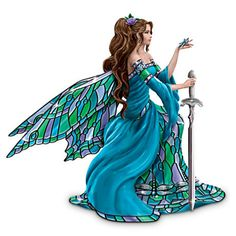 Nene Thomas fairy, inspired by Tiffany stained glass.