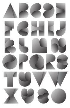 Fearless Leaves typeface, by Jordan Metcalf