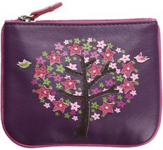 4e396a237fd Mala Leather Lotus Zip Top Leather Coin Purse £15.00 available from  www.kubi.