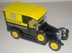 Matchbox Models of Yesteryear Y-5 1927 Talbot Van, Dunlop Tyres & Accessories