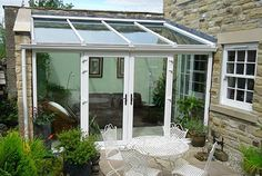 upvc lean to conservatories interior - Google Search                                                                                                                                                      Más