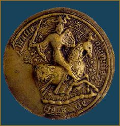 Great Seal of Owain Glyndŵr (c. 1359 – c. 1415), last Welsh Prince of Wales and ruler of an independent Welsh state, national liberator and visionary