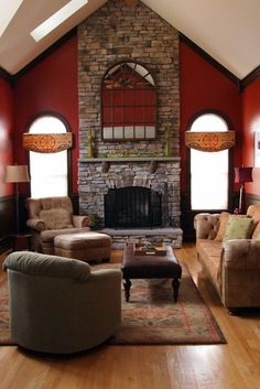 Create a Welcoming Home for Overnight Guests - Kennys Landscaping Interior Design Images, Interior Design Inspiration, Interior Design Living Room, Design Ideas, Living Room Red, Elegant Living Room, Room Planner, Planner Ideas, Decorating Tips