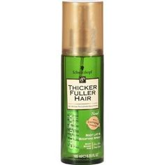 Thicker Fuller Hair Cell-U-Plex Root Lift and Bodifying Spray, 6.25 fl oz...I LOVE this product, well I use the shampoo as well as the conditioner..It makes my long fine hair SO full  and feels thicker and stronger