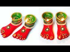 Diya Stand From Newspaper Diya Decoration Ideas, Diwali Decorations At Home, Decor Ideas, Craft Ideas, Diwali Diya, Diwali Craft, Vase Crafts, Bottle Crafts, Origami