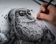 Images of pencil sketches drawings - Cool Pencil Drawings, Pencil Sketch Drawing, Drawing Eyes, Pencil Drawing Tutorials, Pencil Art, Easy Drawings, Badass Drawings, Awesome Drawings, Images Of Pencil