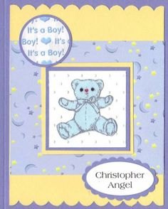 Haidy's Baby Boy 2012 by Penny Strawberry - Cards and Paper Crafts at Splitcoaststampers