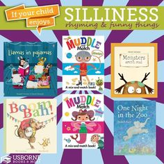 Get your kids laughing with our silly books from Usborne http://www.DaniellesBooks.com
