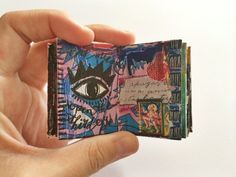 mini journal // by bun blog - artist Roxanne Coble