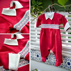 Enxoval Maternidade by BK Home para meninos. Para o último dia na maternidade: vermelho!
