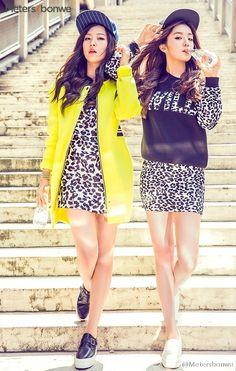 Red Velvet pose for Chinese brand 'Meters/bonwe' | allkpop.com