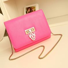 handbag, pink, fashion, bags, purses .Leather bags for girls   #fashion #girls #bags www.loveitsomuch.com