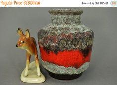 Vintage Vase / Carstens Tönnieshof / 6557 15   West Germany   WGP   70er von ShabbRockRepublic auf Etsy