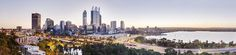 Panorama Pic of Perth Australia