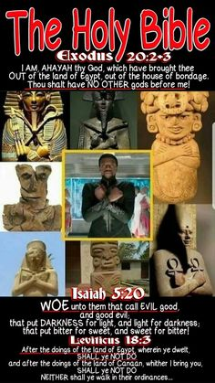 The Holy Bible: Isaiah 5:20 (KJV) WOE unto them that call EVIL good, and good evil; that put DARKNESS for light, and light for darkness; that put BITTER for sweet, and sweet for bitter! GET back to the Bible & Christ NOW! The devil is distracting you through fake witchcraft movies #BlackPanther CAN'T you see that! #HebrewIsraelites GatheringofChrist.org GOCC on YouTube. Praise the Most High God #AHAYAH (I AM, Exo 3:13-15) & His Holy Son the Messiah #YASHAYA (MY SAVIOR, Matt 1:21) Christ