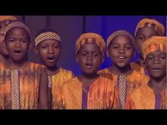 "African Children's Choir singing ""Siwano"""