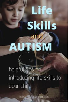 Introducing life skills to an autistic child Life skills are important for your autistic child. How do you teach life Nonverbal Autism, Autism Apps, Autism Help, Autism Education, Preschool Special Education, Adhd And Autism, Autism Parenting, Autism Resources, Autism Diet