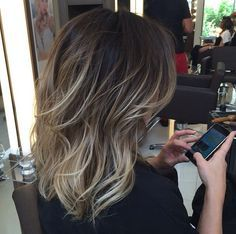 New Hair Balayage Corto Ideas Balayage Hair, Ombre Hair, Hair Day, New Hair, Gorgeous Hair, Dark Hair, Hair Looks, Pretty Hairstyles, Hair Trends