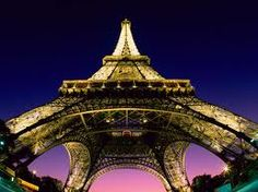I've never been to Paris, but I think this is the most gorgeous shot of the Eiffel Tower I've ever seen.