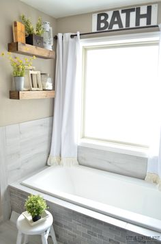 Farmhouse Master Bathroom Makeover