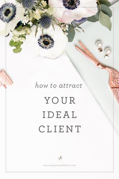 Short and concise article gives insights into the consumer behaviour of your ideal client and how to attract them.