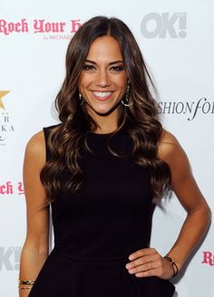 Perfect hair color. Jana Kramer