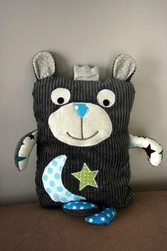 Doudou N'ours Royal 3ème version