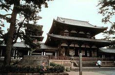 Hyoryu-ji Temple in Nara, Japan.