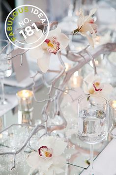 Fabulous Idea No.181: Check out this great way to get creative with centerpieces!