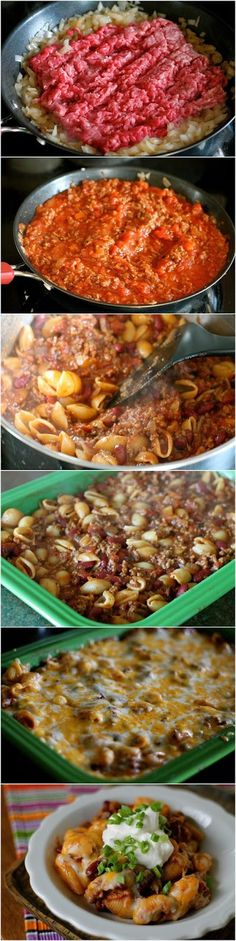 Everyone's collection: Chili Pasta Bake