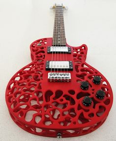 3-D Guitar by New Zealand\'s ODD Guitars