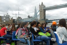 Thames River cruise with ACCORD ISS