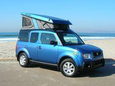 2006 Honda Element EX - Atomic Blue Metallic  Options: Color matched top
