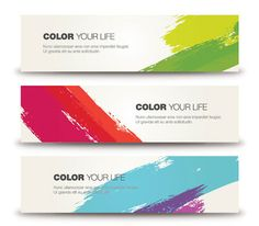 Color Your Life Vector Graphic