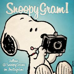Follow Snoopy on Instagram!