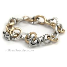 X by Trollbeads | Love Bracelet Call to purchase 402-315-3400 ~<3