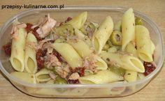 salatka makaronowa z tunczykiem i pomidorami