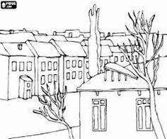 Resultado de imagem para desenho de cidades antigas